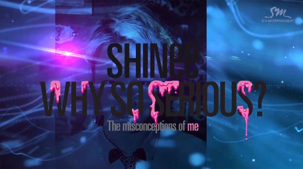 """SHINee ปล่อยไฮไลท์เมดเลย์สำหรับ """"Why So Serious?"""" อัลบั้ม"""