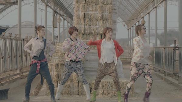 "T-ara N4 ปล่อย MV ""Countryside Life"" Drama Version และ Dance Version"