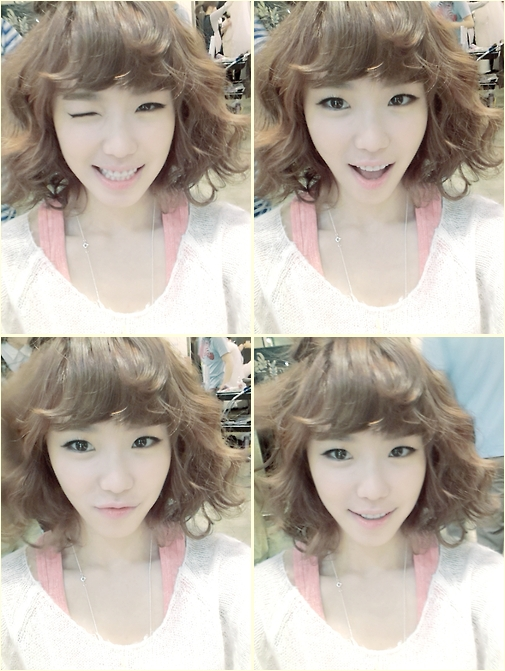 ฮโยซอง Secret โชว์วิ้งค์สุดน่ารักในภาพ Selca ของเธอ