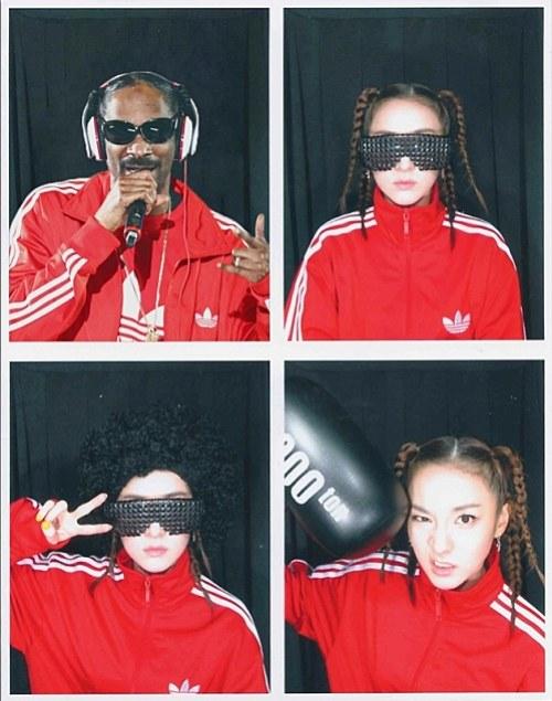 ซานดารา 2NE1 กลายเป็น 'Snoop Dar'!!
