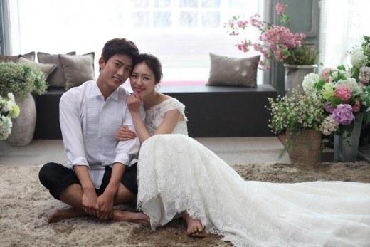 แทคยอนถ่ายภาพแต่งงานคู่กับอียอนฮี!!