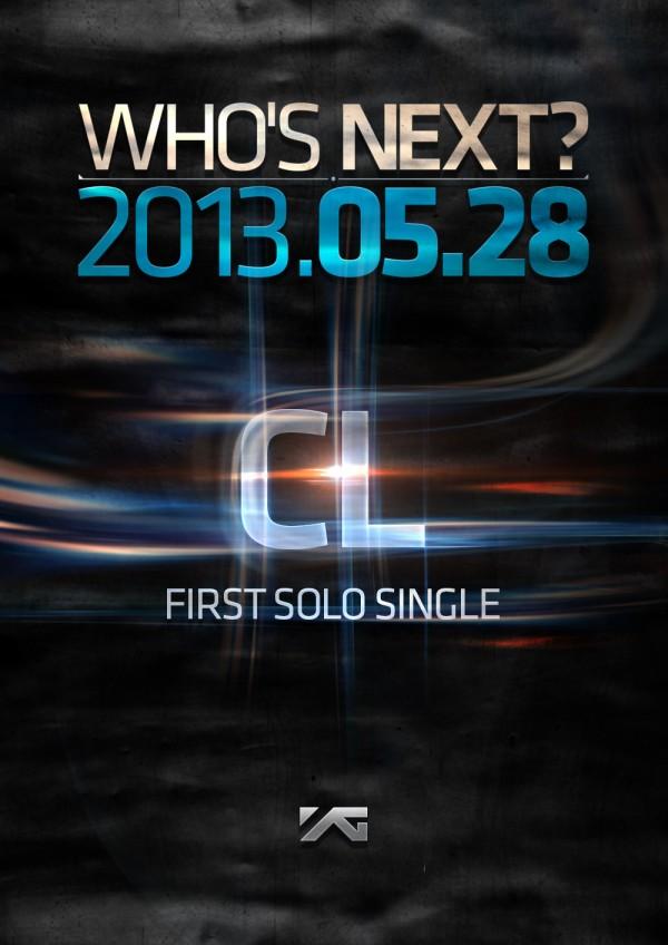 """Who's Next?"" - CL จาก 2NE1 จะฉายเดี่ยวเป็นครั้งแรก!"