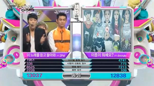 [Live]130524 ผู้ชนะในรายการ Music Bank ได้แก่....2PM !! + การแสดงวันนี้