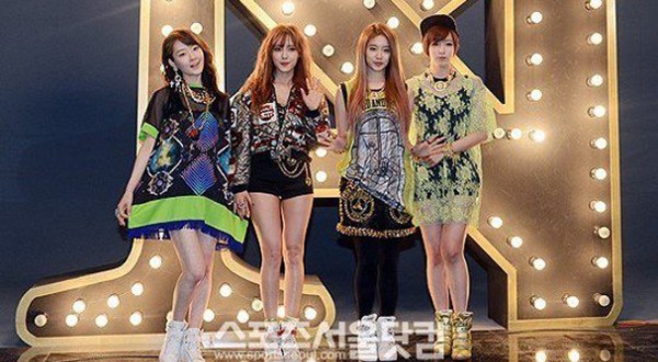 "[Live]T-ara N4 โชว์เพลง ""Countryside Life"" ในรายการ Music Bank"