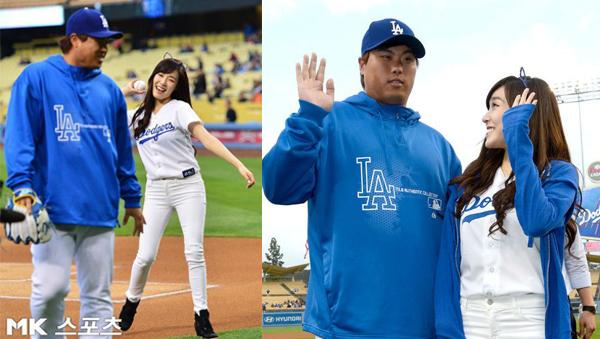 Ryu Hyun Jin - Tiffany SNSD