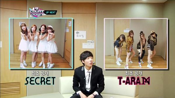 Secret vs T-ara N4
