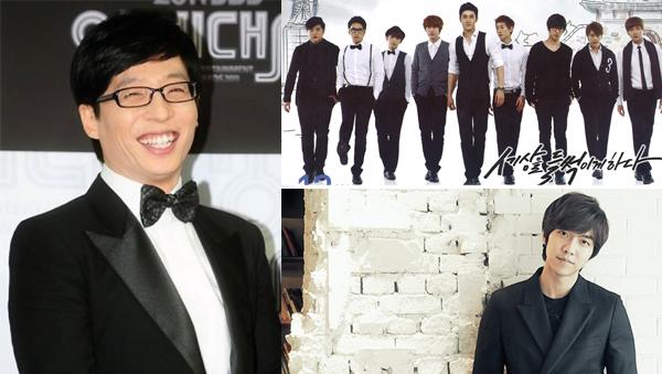 Yoo Je Suk-SJ-Lee Seung Ki