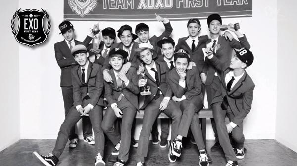 "EXO ปล่อย Highlight Medley  ทั้งเวอร์ชั่นเกาหลีและจีนสำหรับอัลบั้ม ""XOXO (Kiss & Hug)"""