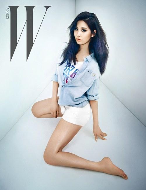 ซอฮยอน Girls Generation กลายเป็นสาวเซ็กซี่ในนิตยสาร W Korea