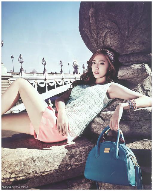 เจสสิก้า SNSD โชว์ความงามของเธอในนิตยสาร Vogue Girl ฉบับมิถุนายน