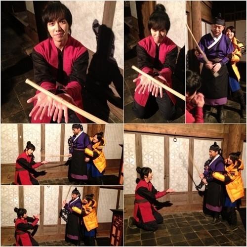 อีซึงกิถูกทำโทษเนื่องจากมือที่ซุกซนของเขาต่อซูจี