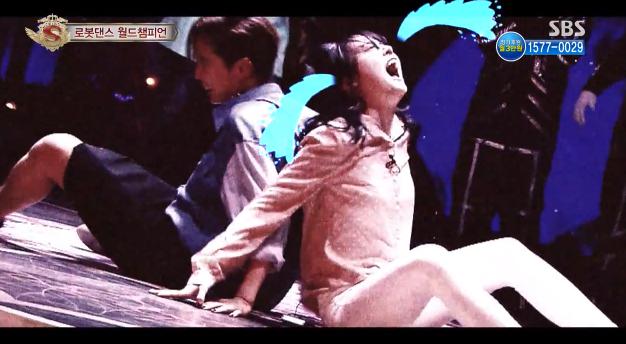 สุดฮา!!มินอา Girl's Day ก้นกระแทกอย่างจังขณะแสดงการเต้นในรายการ 'Star King'