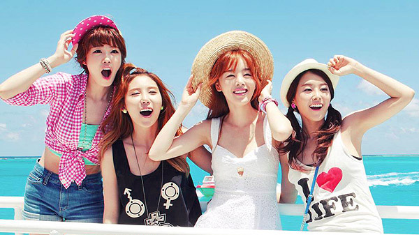 "[Live HD]SECRET คัมแบ็คในเพลง ""Only U"" และ ""YooHoo"" บนเวที Inkigayo"