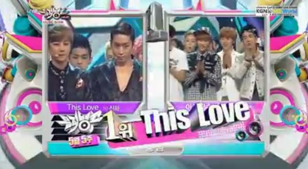 [Live]ผู้ชนะในรายการ Music Bank ได้แก่....ชินฮวา + การแสดงวันนี้