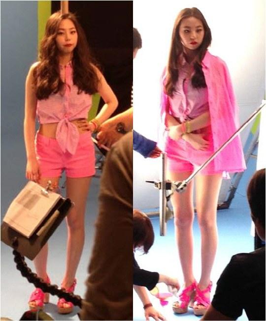 ภาพที่ไม่ได้แก้ไขของโซฮี Wonder Girls สร้างความประทับใจให้แก่ชาวเน็ต