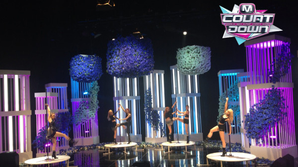 "[Live]After School คัมแบ็คในเพลง ""First Love"" บนเวที M!Countdown"