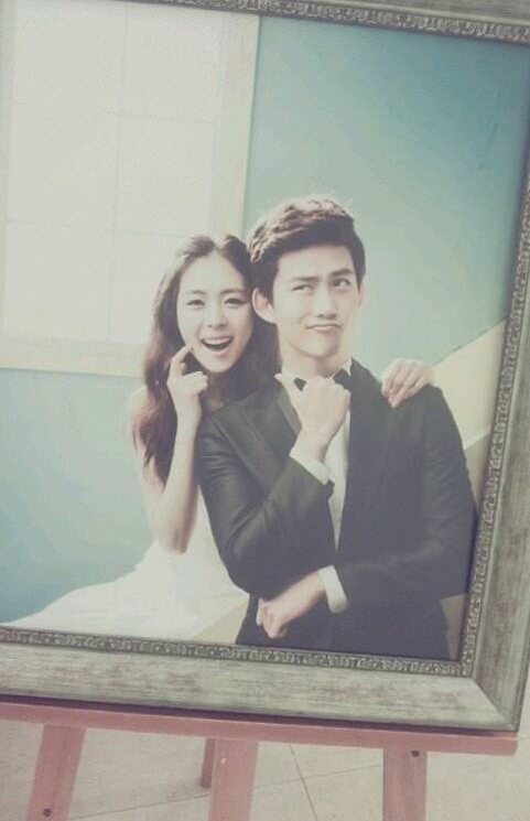 2PM-Taecyeon-Lee Yeon Hee