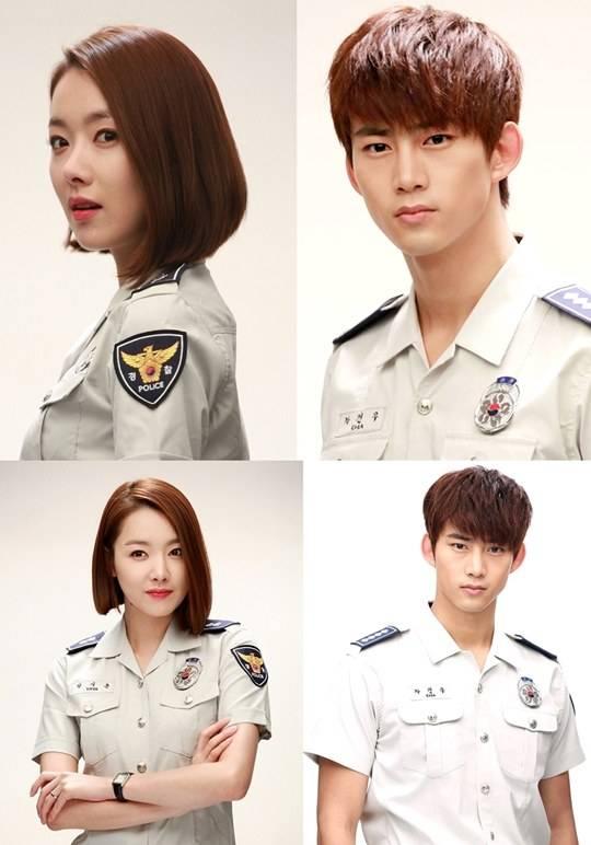 """แทคยอน 2PM และโซยีฮยอนโชว์เสน่ห์ในชุดตำรวจจากละคร """"Who Are You?"""""""