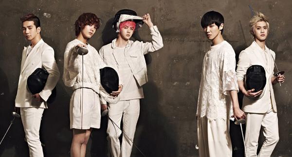 "[Live]MBLAQ คัมแบ็คในเพลง ""Smoky Girl"" บนเวที Music Core"