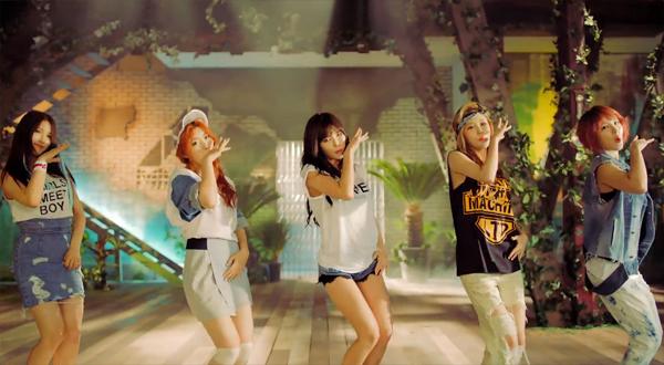 """4Minute ปล่อย MV ใหม่ของพวกเธอในเพลง """"Is It Poppin?"""""""