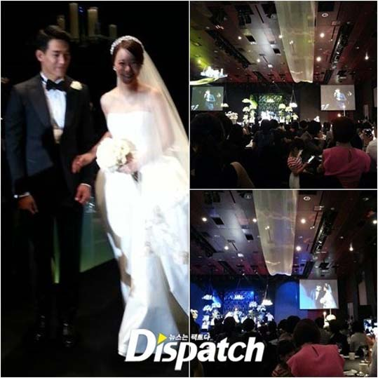Baek Ji Young-Jung Suk Won-Wedding
