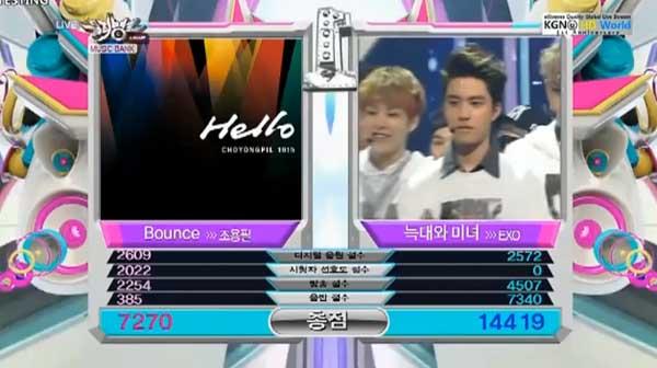 ผู้ชนะในรายการ Music Bank ประจำวันที่ 130614 ได้แก่ + รวมการแสดงของศิลปินกลุ่มต่างๆ