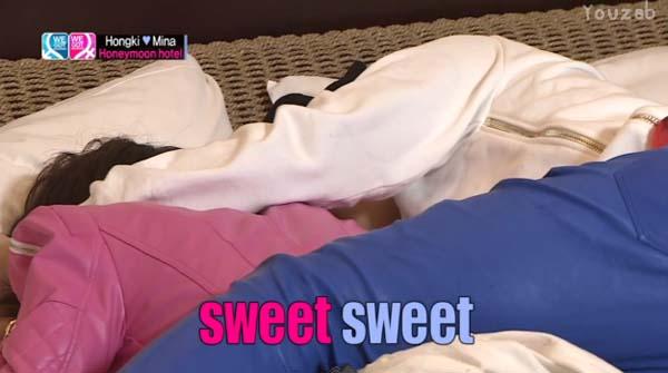 Hongki-Mina-Sweet
