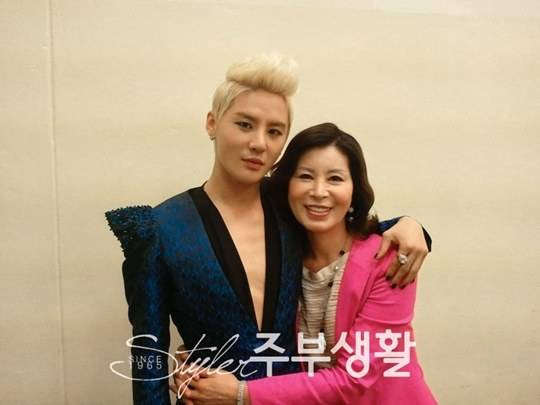 JYJ-Junsu-Xia-Mother-Luxurious house