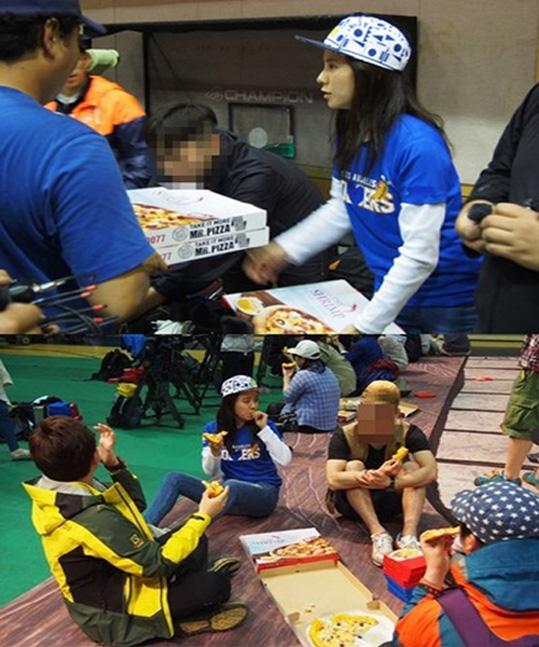 Jihyo-Pizza-Running Man