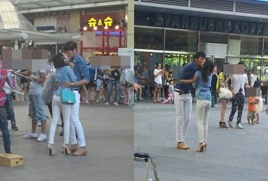 กูฮาราถูกพบขณะถ่ายฉากจูบกับหนุ่ม?