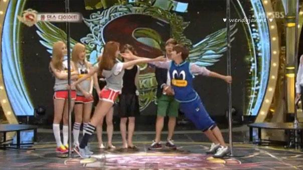 Kwanghee-UEE-Pole Dance