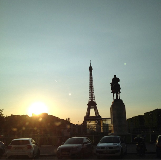 Taeyang-First day in paris