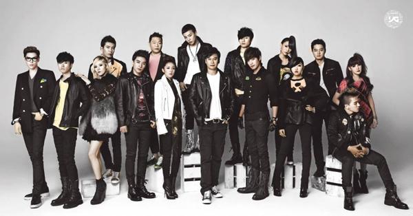 YG Entertainment Artists-1