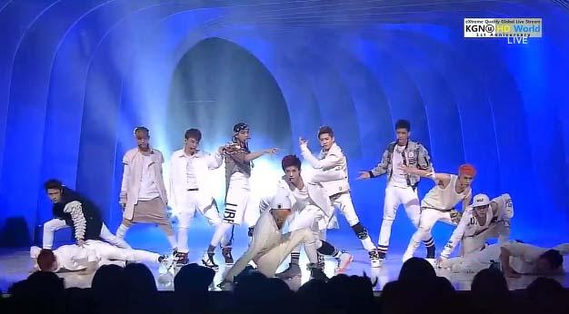 "[Live HD]EXO คัมแบ็คด้วยเพลง ""Wolf"" ในรายการ Inkigayo 2/6/2013"