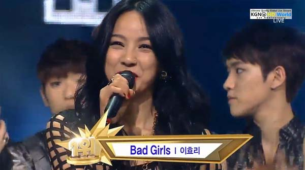 [Live]130602 ผู้ชนะในรายการ Inkigayo ได้แก่....อีฮโยริ!! + การแสดงวันนี้