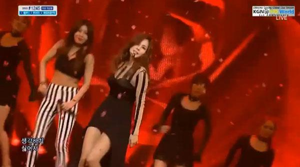 "[Live]ไอวี่กลับมาอีกครั้งบนเวที Inkigayo ในเพลง ""I Dance"" feat. ยูบิน Wonder Girls"