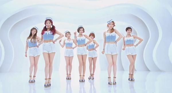 "[Live]130608 Rainbow คัมแบ็คในเพลง ""Sunshine"" บนเวที Music Core"