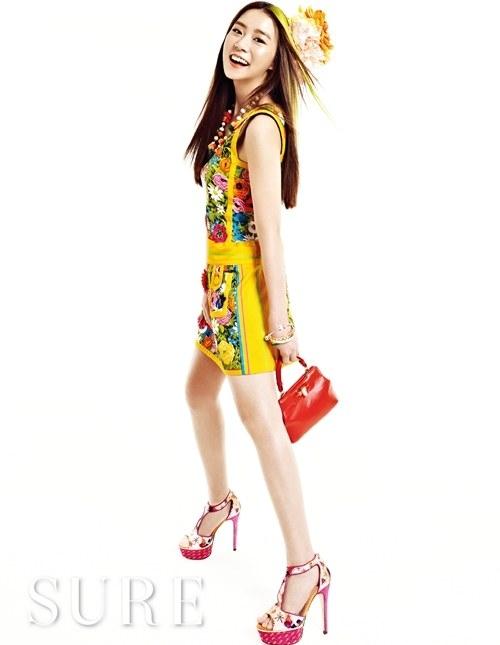 ซึงยอน KARA โชว์ความสวยน่ารักสดใสในนิตยสาร SURE