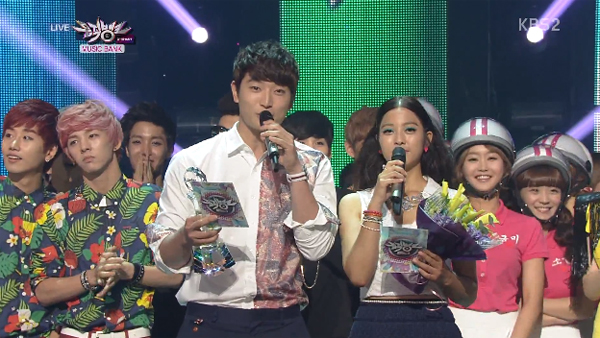 [Live]130628 ผู้ชนะในรายการ Music Bank ได้แก่...SISTAR!!! + การแสดงวันนี้