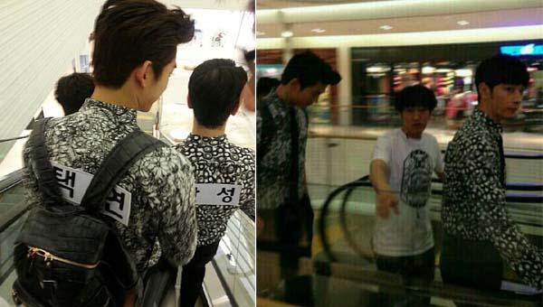 ว้าว!!แทคยอน และชานซองจาก 2PM ถูกพบขณะถ่ายทำรายการ Running Man!!