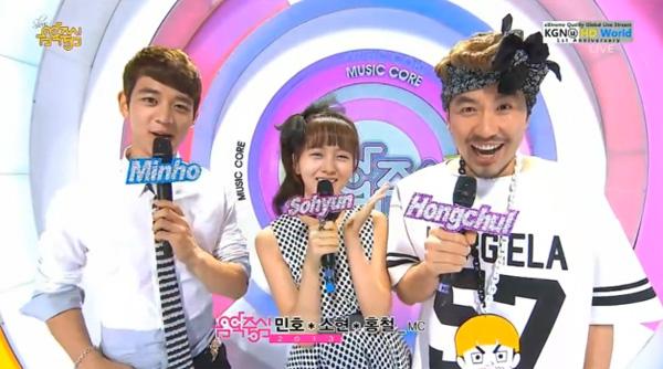 [Live]130608 ผู้ชนะในรายการ Music Core ได้แก่...B2ST + การแสดงวันนี้