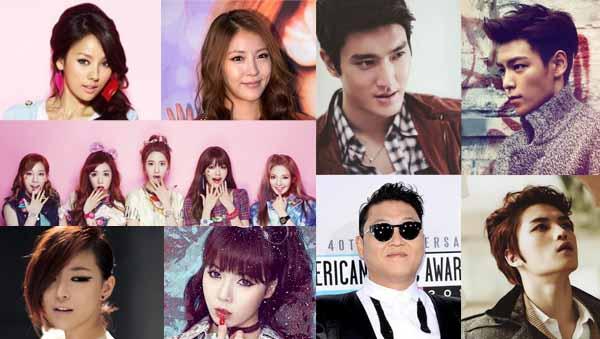 10 sexiest K-pop stars