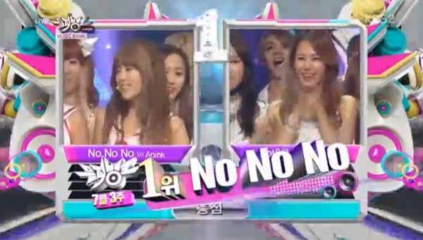 [Live]ผู้ชนะในรายการ Music Bank ได้แก่...A Pink!! + การแสดงวันนี้