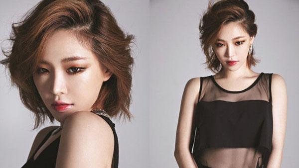กาอิน Brown Eyed Girls โชว์ความงามของเธอในนิตยสาร Nylon