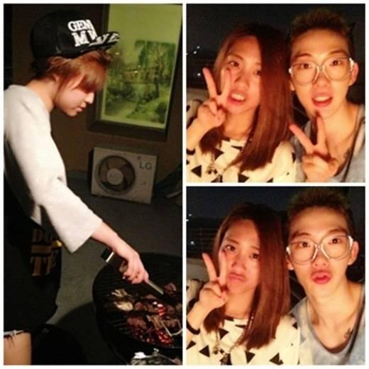 โจควอน 2AM ปาร์ตี้บาร์บีคิวกับมินและเฟย Miss A อย่างสนุกสนาน