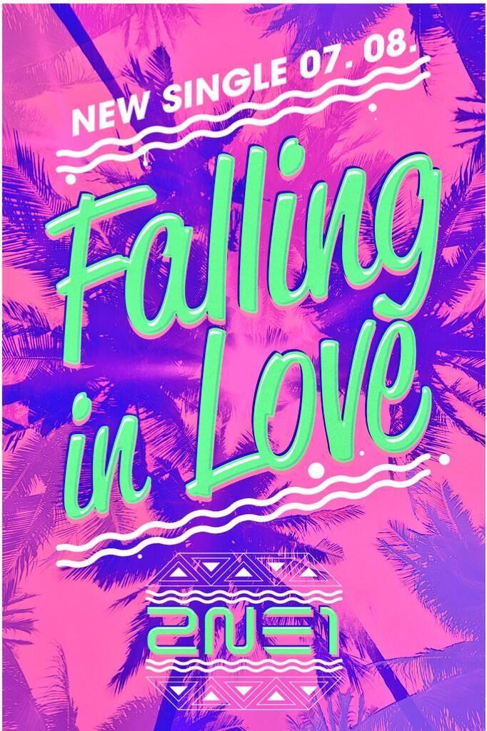 """2NE1 ปล่อยภาพทีเซอร์สำหรับ """"Falling In Love""""!!"""