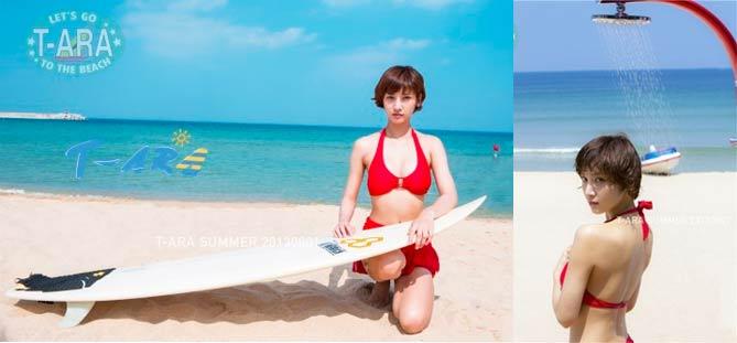 "T-ara ปล่อย MV ทีเซอร์สุดร้อนแรงในเพลง ""BIKINI"" feat. Davichi และ Skull"