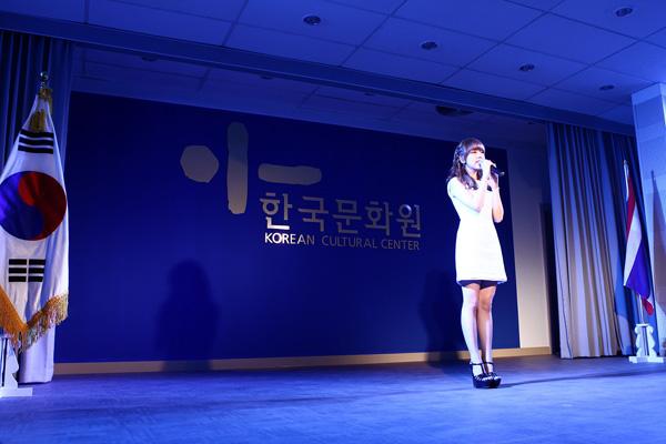 แบค อายอนปลื้มได้เป็นตัวแทนศิลปินเกาหลี ร่วมงานเปิดตัวศูนย์วัฒนธรรมเกาหลีประจำประเทศไทย