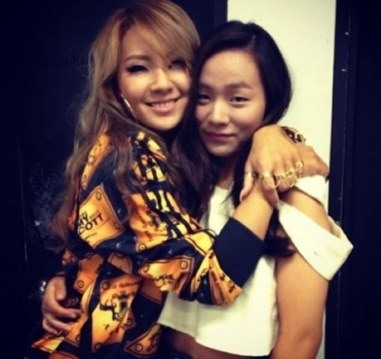 CL-and-little-sister-instagram