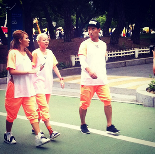 Dara-CL-Running Man